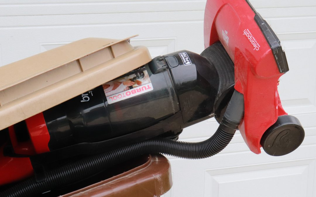 Don't Throw Away Your Old Vacuum Cleaner