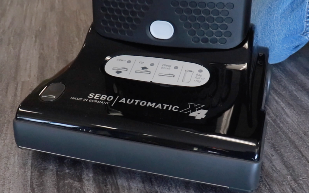 SEBO Automatic X4 Is The Ultimate All-Purpose Vacuum Cleaner