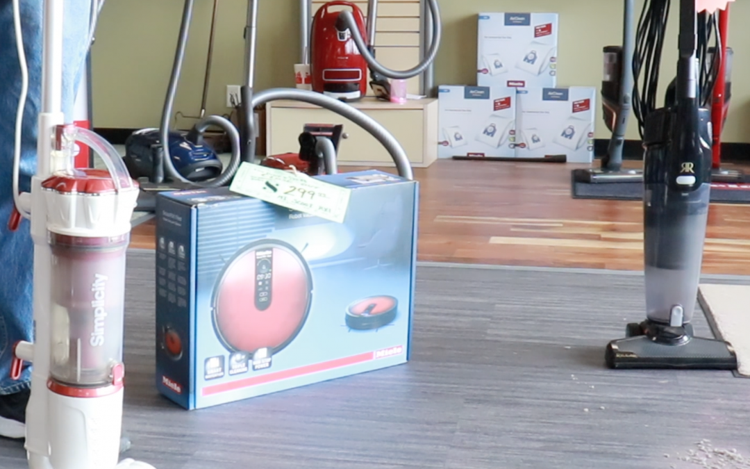 Special Holiday Prices on Simplicity, Miele and Riccar Vacuum Cleaners
